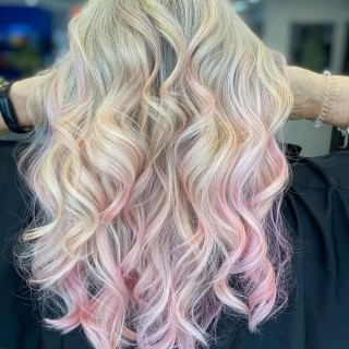 Reposted from @jamies_chair THE BLUSHING BLONDE! It's a combination of blush and existing or new highlights super cute and not a huge commitment @pulpriothair @pulpriotcanada via @d2ehairboutique   ___________________________________________________ #bubblegum #blushhair #pulpriot #pulpriotblush #pulpriothair #blushpulpriot #pulpriotisthepaint #maneintrest #blush #hair #balayage #maneaddicts #babylights #highlights #haircut #haircolor #makeastatement #colorpop #beautylaunchpad #goodhairday #pinkhair #wavyhair #fashion #pastelhair #olaplex #licensedtocreate #pink #d2ehairboutique #bloorwestvillage #hairbyjamie